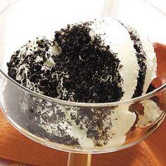 Light dirt pudding