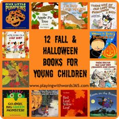 12 Fall & Halloween Books for Young Children - Pinned by @PediaStaff – Please Visit  ht.ly/63sNt for all our pediatric therapy pins