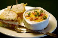 La Madeleine Potato Soup Copycat Recipe. Yes, yes. yes.