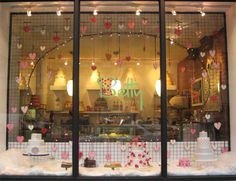 The window at Betty Bakery in Boerum Hill, Brooklyn.