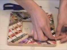 Creating a Collage Mosaic with #NoDays Adhesive ~ Crash Mosaic Technique works, too!