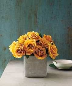 Simple tips for arranging a bouquet of roses like a pro.