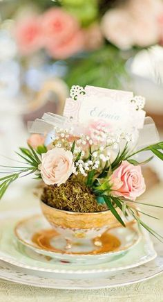 place setting....
