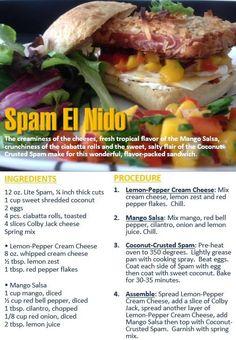 A delicious SPAM Recipe! #SPAM #Recipe