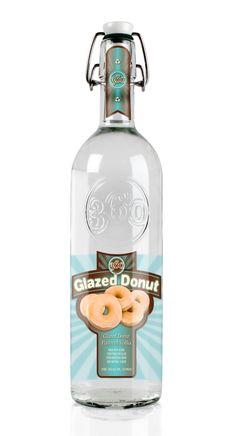 glaze donut, flavor vodka, food, drink, cocktail, donut vodka, beverag, thing, donut flavor
