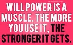 Will Power! #motivation!