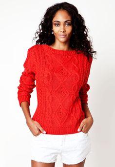 Blusas para o inverno! Modelos em tricô com 30% de desconto Dafiti ► www.ofertasnodia.com #moda #inverno