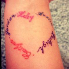 Tantalizing Tattoos On Pinterest  Sibling Tattoo