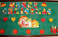 Enjoy Teaching English: CHRISTMAS BULLETIN BOARD