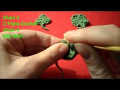 Learn how to make a crochet shamrock pattern or 4 leaf clover for St. Patrick's day. Decorate your home with garland, make a barrette or embellish a hat.