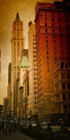 View of the gorgeous Woolworth Building