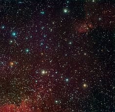 Around the Arches Cluster. Image credit: ESO