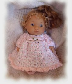 Nightgown Pattern for a 9 inch baby doll