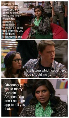 one of the best Mindy quotes ever