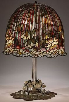 Stained Glass Lamp, Metropolitan Museum, New York