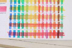 Testing Watercolor Transparency
