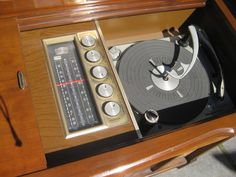 This is what a stereo system looked like when I was a kid...it was a piece of FURNITURE.