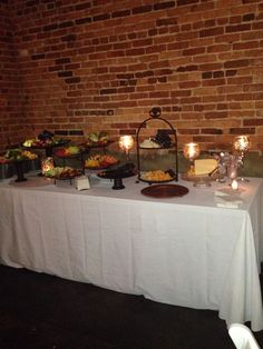 Appetizer table!