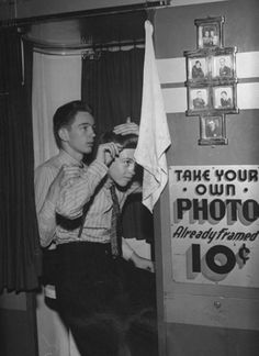 take your own photo ... 10 cents