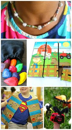 Love these AWESOME recycled craft projects for kids -- brilliant ideas and so easy to make!
