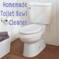 Homemade Toilet Bowl Cleaner & All Purpose Cleaning Spray!