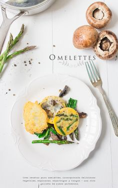 Omelette with Mushroom and Asparagus