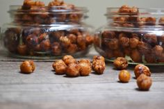 Bakeaholic Mama: Baked Chickpeas... The Best Healthy Snack Yet!
