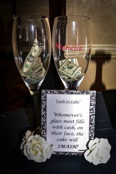 Fun wine wedding idea.