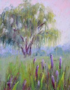 Weeping Willow Tree, painting by artist Karen Margulis