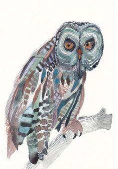 'Grey Owl' by Michelle of United Thread