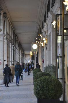 Arcades, rue de Rivoli