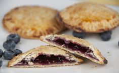 Blueberry Hand Pies {Gluten-Free} + a GIVEAWAY!