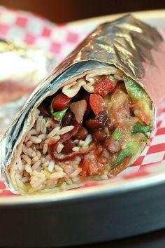 Vegetarian Burrito recipe