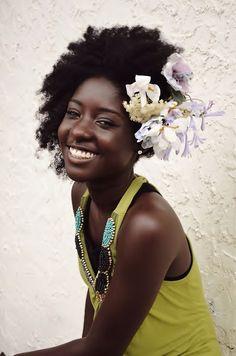 hair flowers, chocolates, hair beauti, black beauti, natur hair, beauti girl, afro, beauty, beauti flower