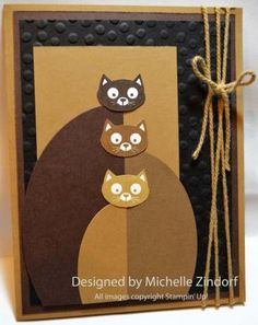 for cat lovers.... soft kitty warm kitty card by Michelle Zindorf
