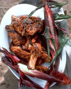 Red Chile Lamb Chops Recipe