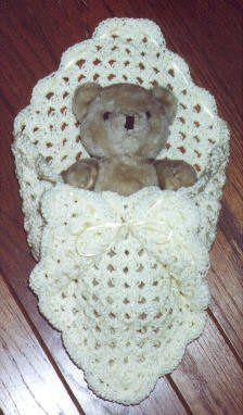 bear in pouch