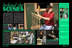 Yearbook Spread. (2011)