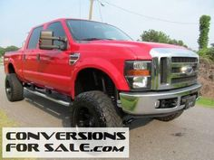 2008 Ford F-350 Super Duty Lariat Diesel Lifted Truck