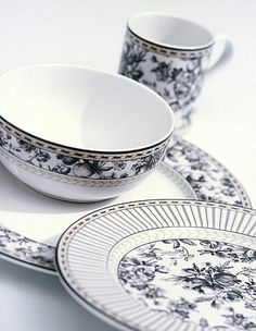 Royal Doulton Provence Noir casual fine china