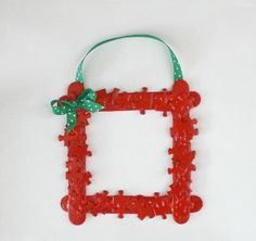 Puzzle Piece Frame Ornament   AllFreeKidsCrafts.com