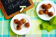 Cheesy Meatballs - Looks quick and easy!