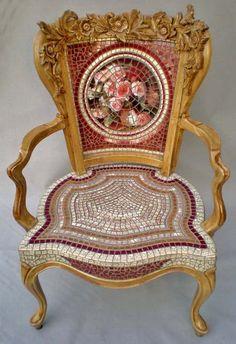 mosaic chair-
