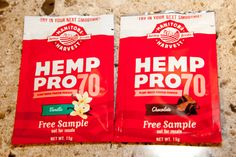 Manitoba Harvest has come out with two new flavours of their HempPro70. Find out my thoughts on each one. @manitobaharvest #pro70