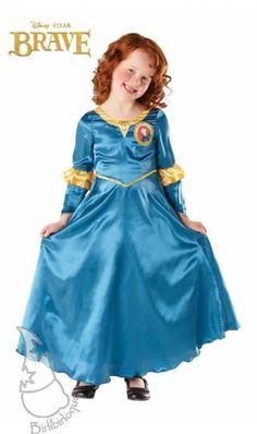 Disfraz Infantil de Mérida Brave, de la película de Disney, la protagonista es Mérida.