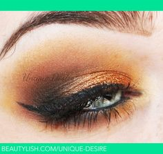 Bronze Smokey Eye for Fall