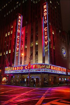 Radio City Music Hall - I saw NKOTB/BSB perform here my first time.  The second time I saw the Christmas Spectacular starring The Rockettes!