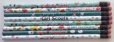 Girl Scout Holiday Pencils-Asst. Styles- $.60