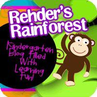 Mrs. Rehder's Rainforest #kindergarten blog