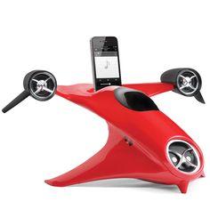 The Futurists Hand Activated iPhone Speaker - Hammacher Schlemmer